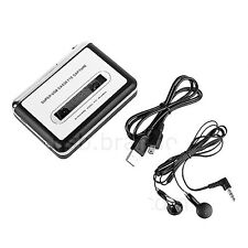 Portable Tape to PC USB Cassette to MP3 CD Converters Capture Audio MP3 Player