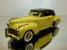 BROOKLIN MODELS CHRYSLER NEWYORKER CONVERTIBLE - YELLOW 1:43 - EXCELLENT - 6