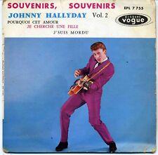 EP JOHNNY HALLYDAY - SOUVENIRS SOUVENIRS