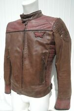 MATCHLESS X-RELOADED classic brown / burgundy Leder Jacke