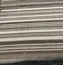50 Yard roll Richloom Mocha Stripes Heavy Upholstery with backing fabric