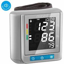 MIBEST Wrist Blood Pressure Monitor - BP Cuff Meter - FDA Approved