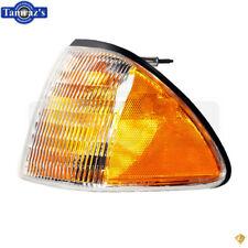 87-93 Mustang Front Bumper Nose Parking Side Marker Light Lamp Lens - LH