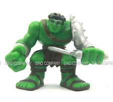 "rare Marvel Super Hero Squad KING HULK Metallic Gladiator Armor 2.5"" Figure toy"