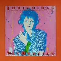 "PAT BENATAR Invincible 4V942878 Sterling 12"" Vinyl VG+ Cover VG"