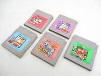 Lot of 5 Game Boy KUNIO KUN NEKKETSU Set Nintendo Cartridge Only gbc