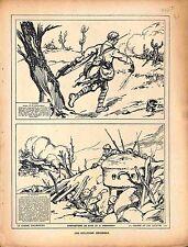 Soldat Mathys 114e Infanterie Grenadier Prisonnier Feldgrau/ Malaguti 1918 WWI