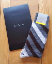 BNWT Paul Smith Men's Barber Stripe Wool Alpaca & Cashmere Socks (O/S) RRP £29