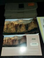 2006 Jeep Grand Cherokee Owners Manual Kit With Case