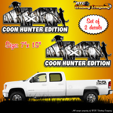 4x4 snow camouflage decals coon hunter edition camo stickers truck suv hunting