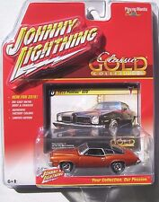 JOHNNY LIGHTNING 2016 CLASSIC GOLD 1973 PONTIAC GTO 400 #10 B LIMITED EDITION