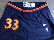 Antawn Jamison Starter Warriors Authentic NBA Team Sewn Game Pants Size XL 40
