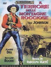Dvd IL TERRORE DELLE MONTAGNE ROCCIOSE (1954) Richard Boone** A&R Productions **