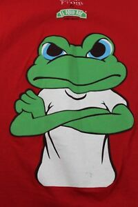 """Senior Frog's El Squid Roe Cabo Mexico red XL T shirt """"It wasn't me"""""""