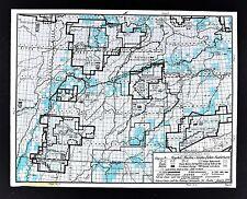 1978 Alaska Map Yukon Kuskokwim Koyukok Wildlife Refuge Nowitna Wildlife Refuge