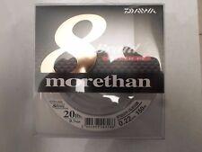 MORETHAN 8 BRAID HYPER PE TRESSE 0.22mm 150 M 9,1 KG NEUF