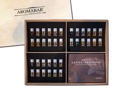Kaffee Aromabar 36 wichtigsten Kaffeearomen hochwertigen Holzbox inkl. Booklet