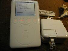 Apple iPod 3rd generation 15GB Bundle Working