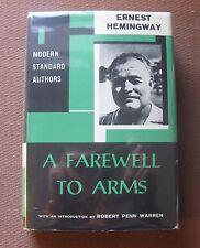 A FAREWELL TO ARM by Ernest Hemingway - HCDJ 1957 - VG+ Robert Penn Warren