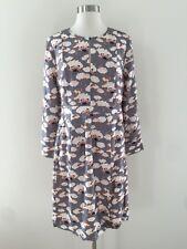 NWT $450 JCrew Collection Thistle Floral Dress Sz 6 Grey Multi E2326