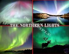 NORTHERN LIGHTS - Travel Souvenir Flexible Fridge Magnet