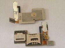 Sony ericsson c902 c902i sim carte sd lecteur simcard reader Flex pcb carte NEUF