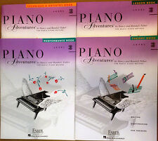 FABER PIANO ADVENTURES 3B  4 BOOK PACK LESSON THEORY PERFORMANCE TECHNIQUE SET