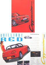 SUZUKI CAPPUCCINO 1993-1995 ORIGINALE UK SALES BROCHURE