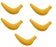 LEGO frutta confezione di 5 banane cibo per minifigs 33085 NUOVO