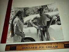 Rare Original VTG Great Lovely Ursula Andress and Jean Paul Belmondo Photo