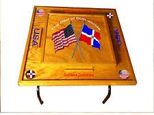 Dominican Republic & USA Domino Table