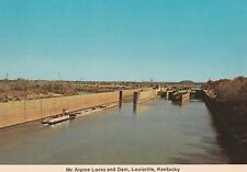 "*Kentucky Postcard-""Mc Alpine Locks & Dam"" /Louisville/ (U2-117)"