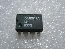 IC 833 qui lm833n (2 volte OPV) (per ulteriori presenti) pag. testo