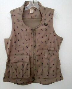 Duluth Trading Co Heirloom Gardening Vest Women's Size small lot of pockets