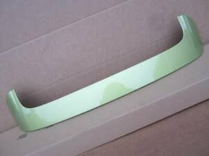 OEM 2011-2013 Ford Fiesta 5dr Hatchback Rear Roof Spoiler Lip Lime Squeeze Green