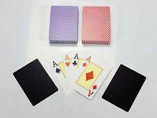 2 Decks Rommékarten, Spielkarten, 52 Karten, Plastikkarten, Romme Spielkarten