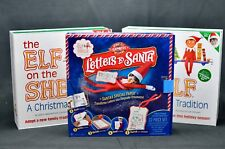 Huge ELF on the Shelf Lot Includes Boy & Girl Elves and Letters to Santa Box Set