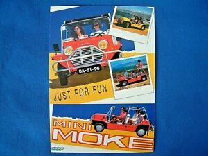 VINTAGE AD GALLERY - POST CARD No.80 - 1982 MINI MOKE