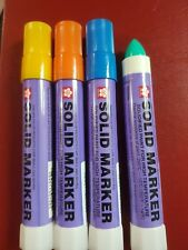 Sakura Solid Paint Marker XSC Solidified paint upto 200C,  4c Assorted 12 pcs