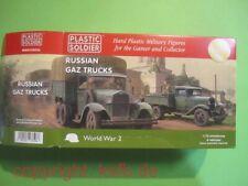 NEU 1:72 Plastic Soldier #V036 WKII 6x Rußland GAZ AA + AAA Trucks LKW Bausatz