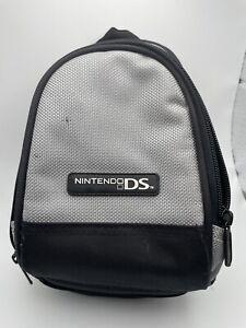 Nintendo DS Travel Bag Case Protector Silver Black