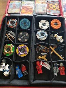 Lego NINJAGO Figuren Spinner + Sammelalbum