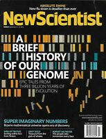 New Scientist Magazine A Brief History of Our Genome Super Imaginary Numbers