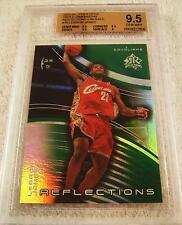 LEBRON JAMES 2003 UD TRIPLE DIMENSIONS EMERALD REFRACTOR ROOKIE #56/100 BGS 9.5