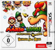 Mario & Luigi: Abenteuer Bowser + Bowser Jr.s Reise - Nintendo 3DS - Neu & OVP