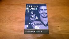 2017-18 Cardiff Blues v Zebre Rugby