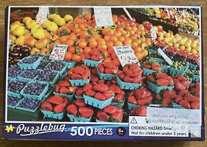 Puzzles: Puzzlebug Jigsaw Puzzle - Fresh Market Fruit Salad (500 pieces)
