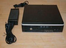 Hp compaq Elite 8300 Ultra Slim Desktop Pc i3 3240 3.4Ghz 320Gb 4Gb Windows 7