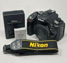 Nikon D D5300 24.2MP Digital SLR Camera - Black (Body Only) - 18K Clicks!