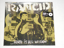 RANCID  ... Honor Is All We Know  LP SEALED + CD inside gatefold